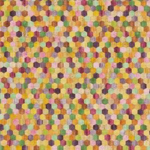 374631 -טפט נקודות צבעוני אתני