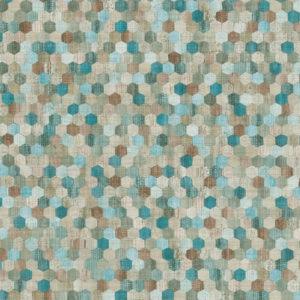 374632- טפט נקודות צבעוני אתני