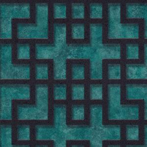 374651- טפט גאומטרי אתני